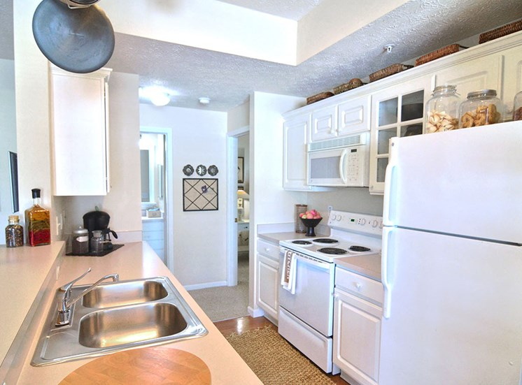 Kitchen galley in apartments in Columbus OH