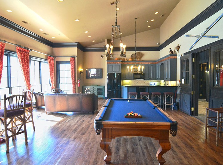 The Farms Apartments Pool Table