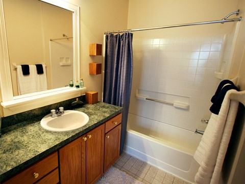 Time Square Apartments Bathroom