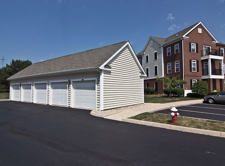 Garage at Arlington Park Apartments