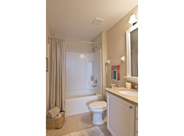 bathroom at Arlington Park Apartments