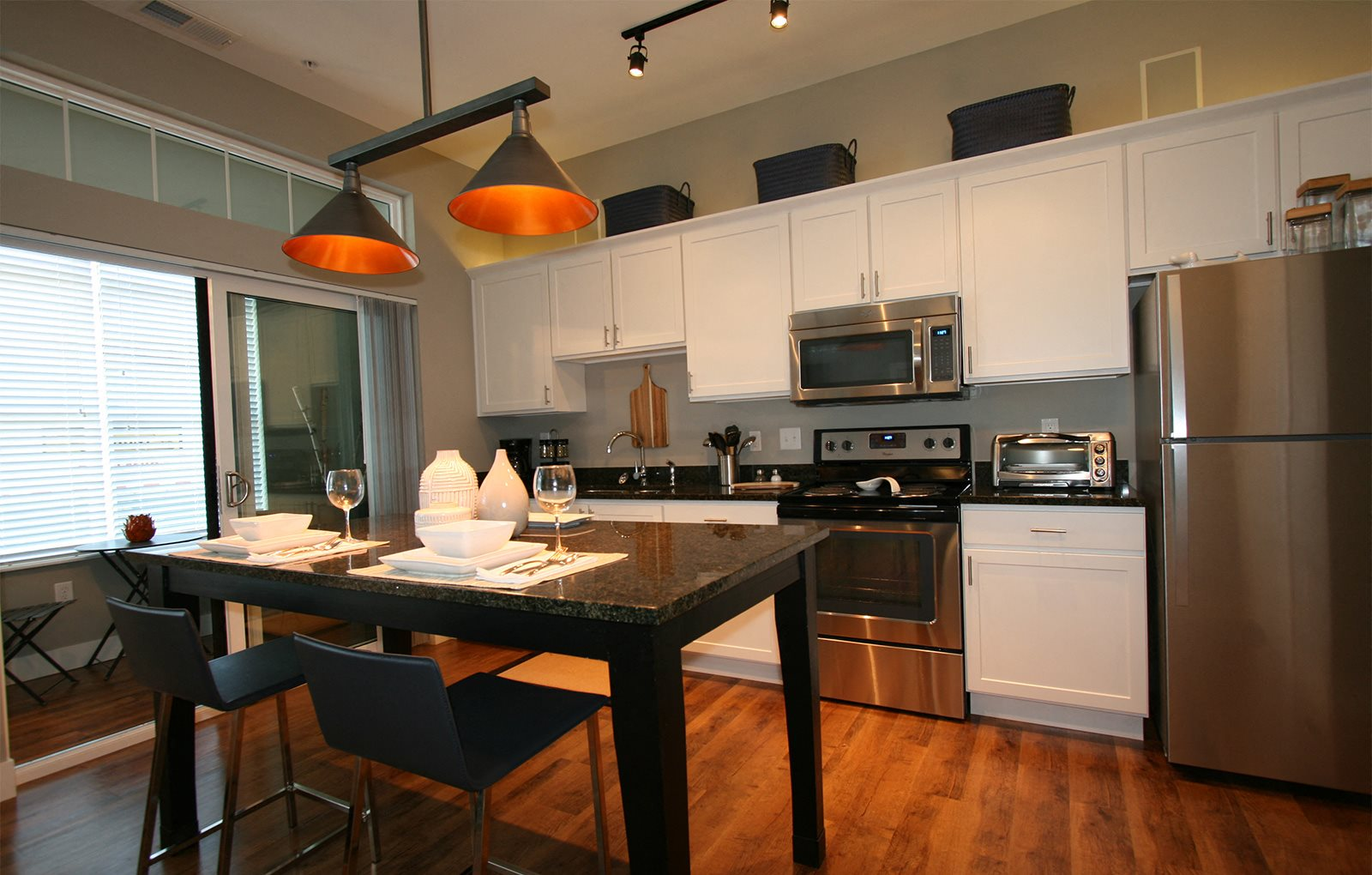 One Pearl Place Kitchen