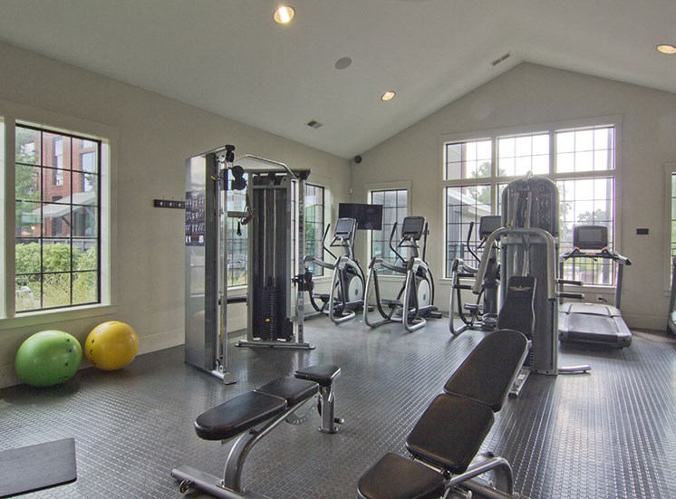 Fitness Center-at Hayden Lofts Apartments 2