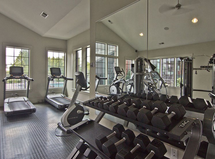 Fitness Center-at Hayden Lofts Apartments