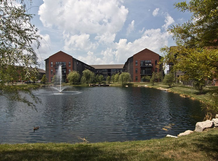Pond at Hayden Lofts Apartments in Dublin OH