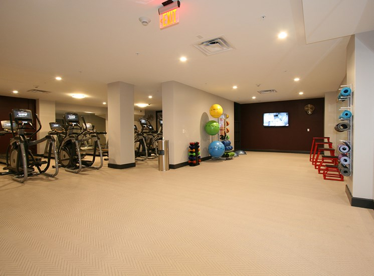Fitness Center 2 at The Citizens Apartments in Columbus OH