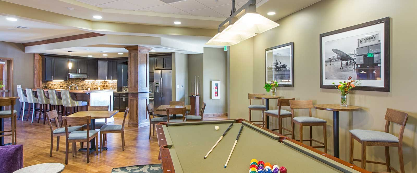 Game Room at The Grove at Stapleton, Denver