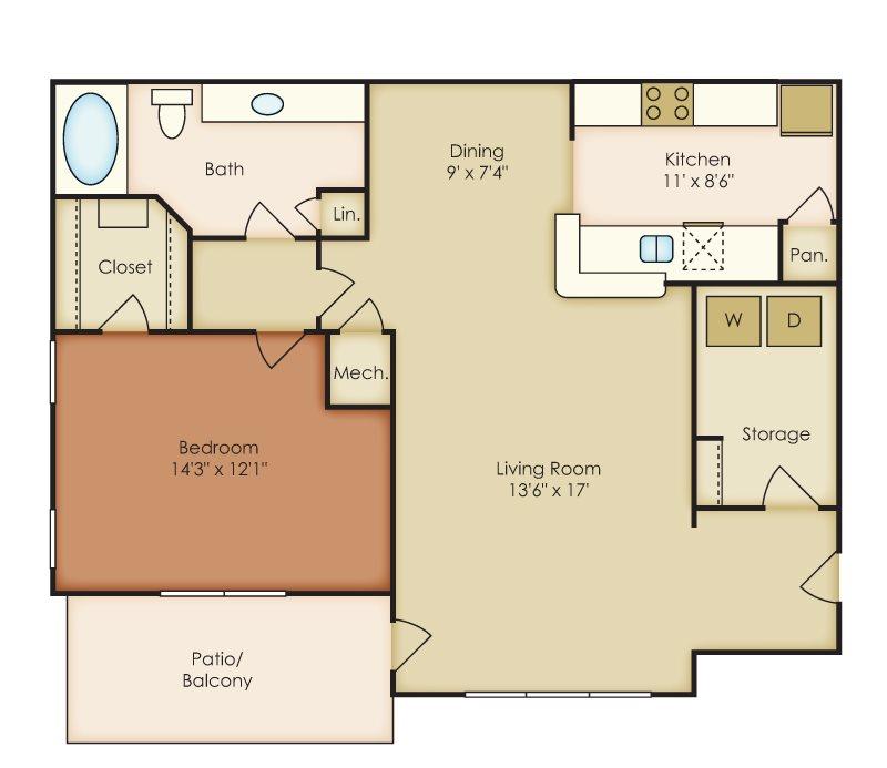 Apartment Guide Books: Crestmark Apartment Homes EBrochure