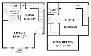 one bedroom apartments in northwest san antoniot