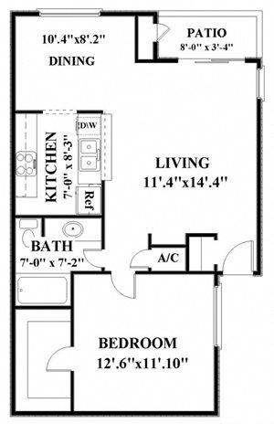 one bedroom apartments in northwest san antonio