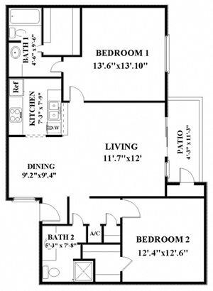 two bedroom apartments in northwest san antonio