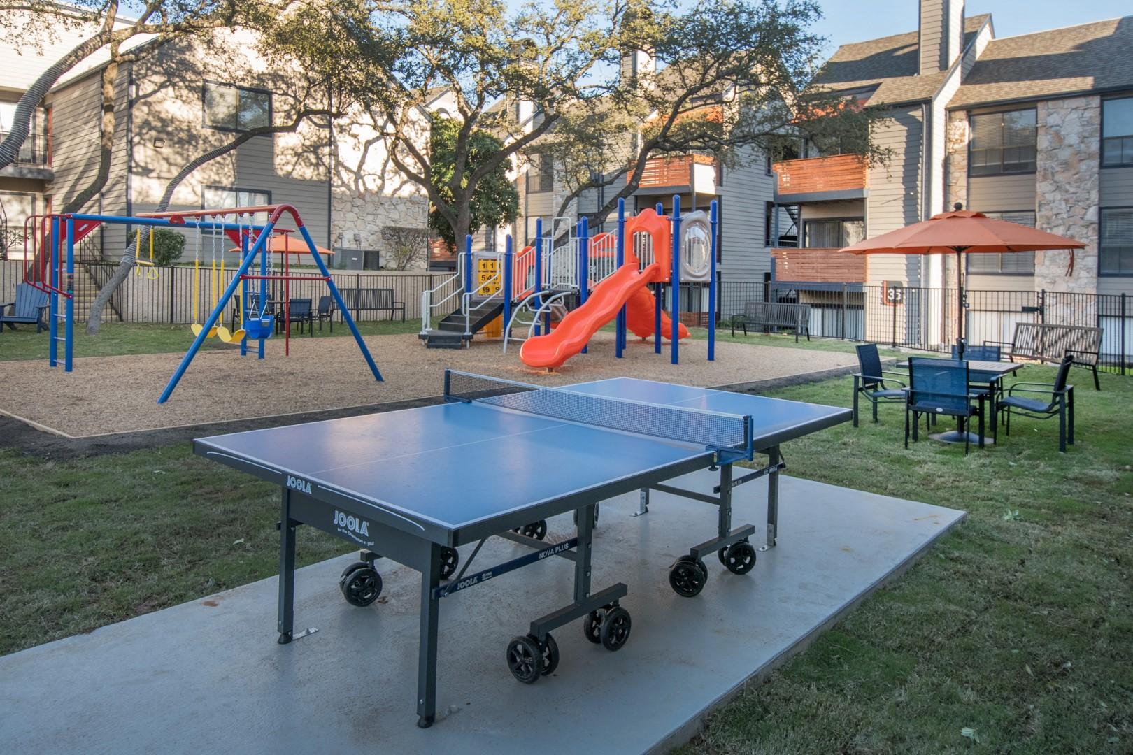 ping pong northwest san antonio apartments
