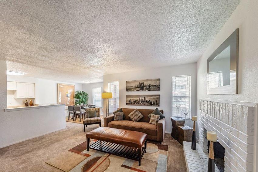 Arbor Creek Apartments Wichita Falls, TX Living Room Interior 2