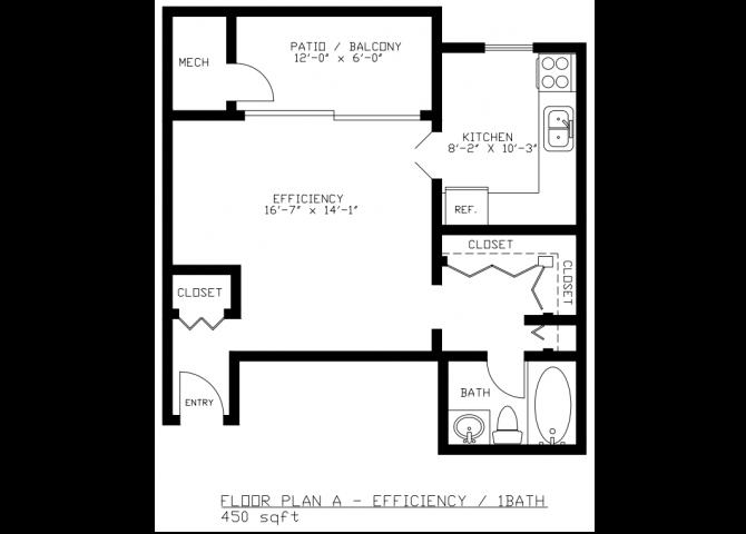 Efficiency Floorplan