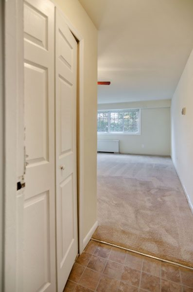 Large hallway closet at Broadfalls in Falls Church, VA