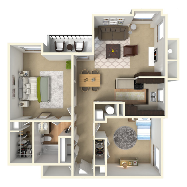 Floor Plans Of Loretto Heights In Denver, CO