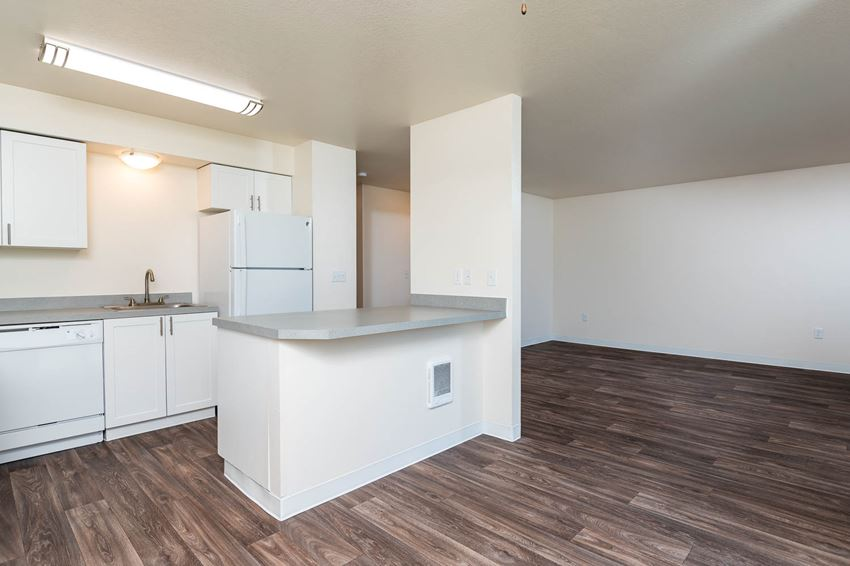 Fernwood Court   2x1C Kitchen, Dining and Living Room views