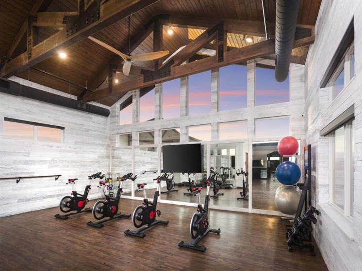 Fully Equipped 24 Hour Fitness Center at Broadstone Montane, Parker, Colorado