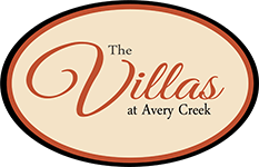The Villas at Avery Creek Logo - Townhome and Apartment Community In Arden, NC