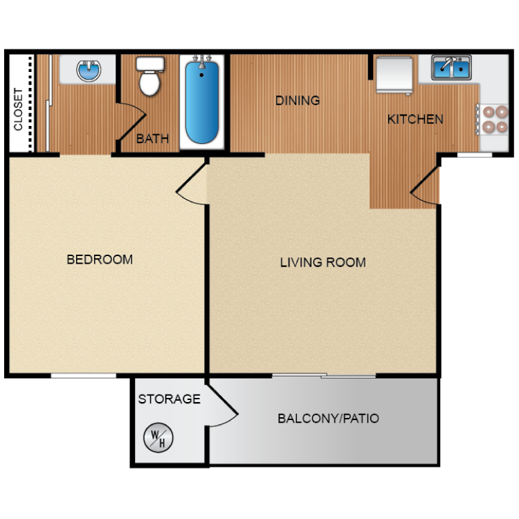 One & Two Bedroom Student Apartments in Long Beach, CA