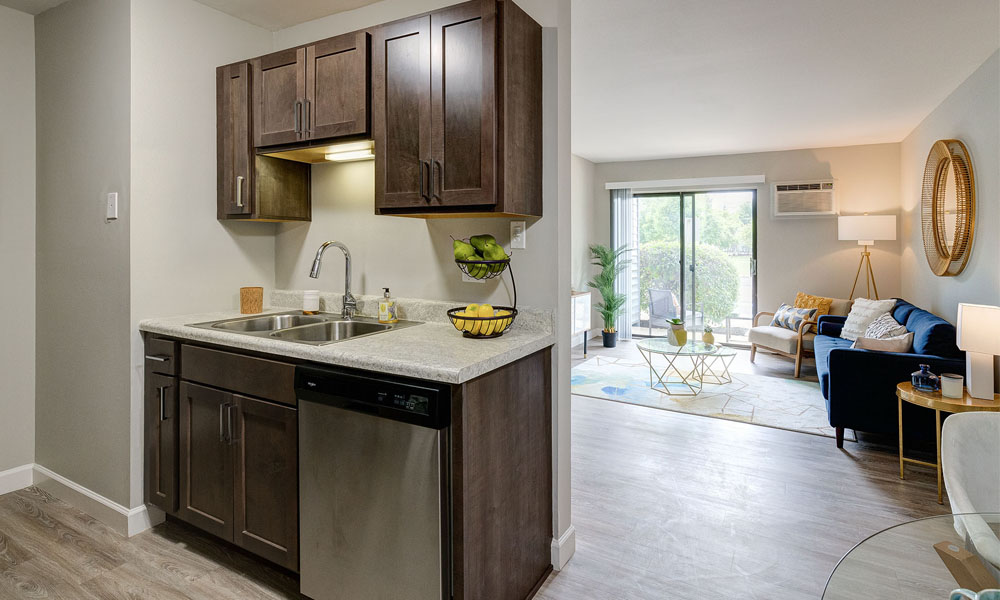 Open and Bright Kitchen and Living Space -  The Clayson