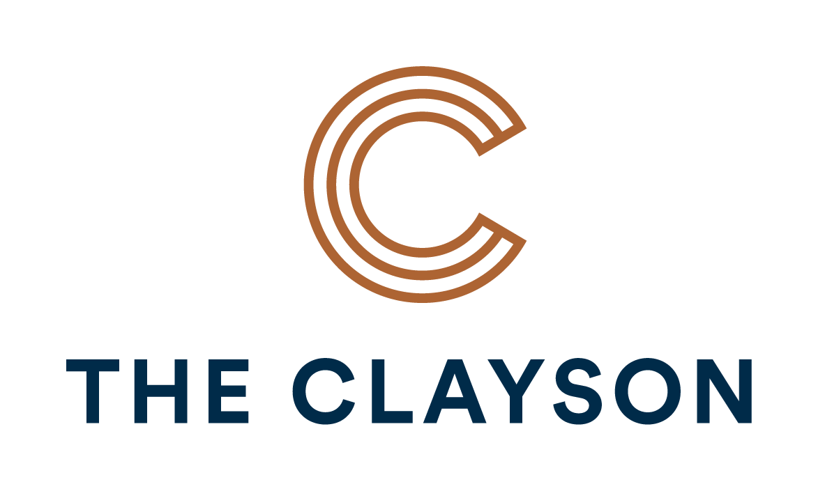 The Clayson logo at The Clayson, Palatine, Illinois