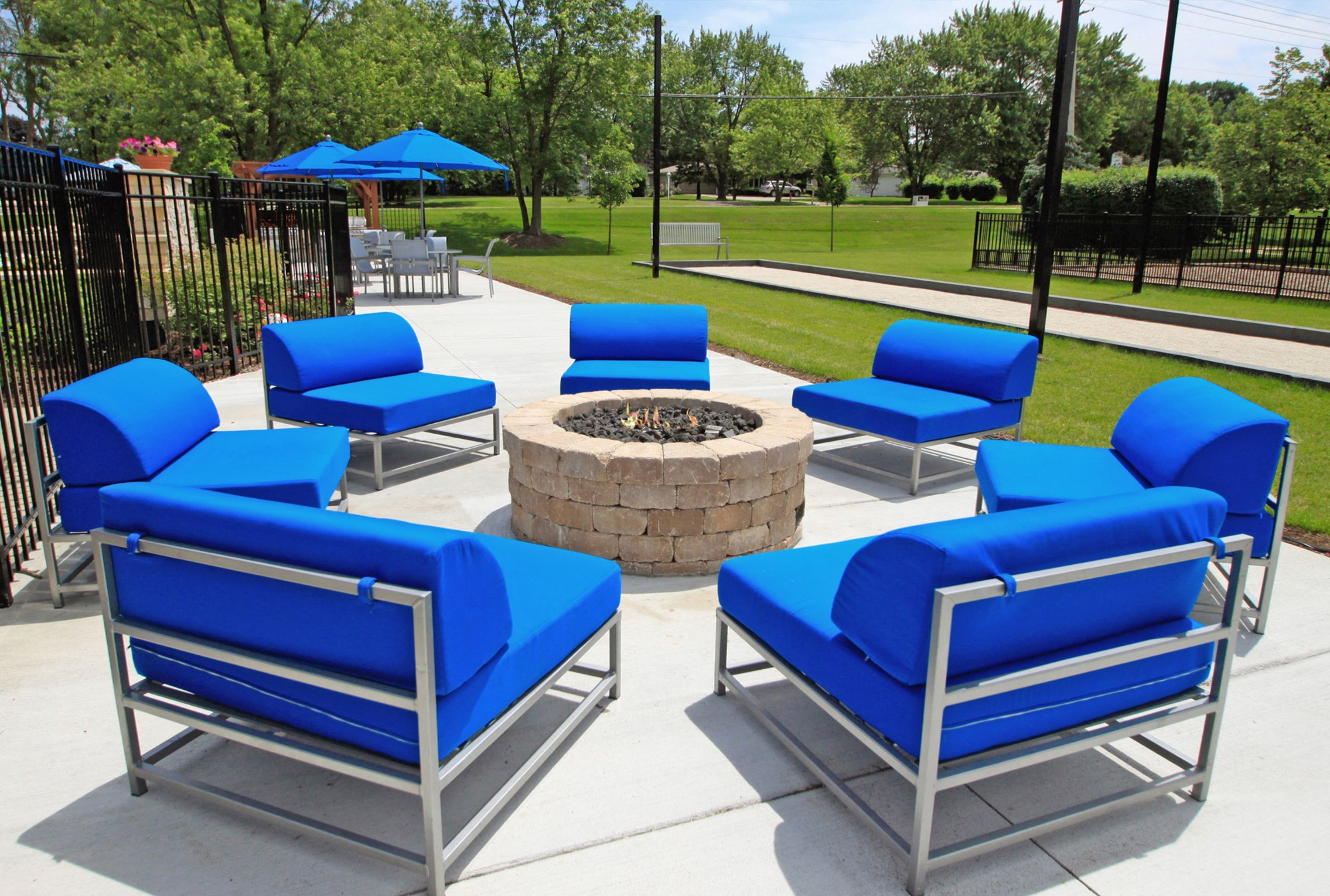 Unique Lounge Area at The Clayson, Palatine, IL, 60067