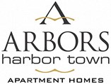 Arbors Harbor Town Logo Black