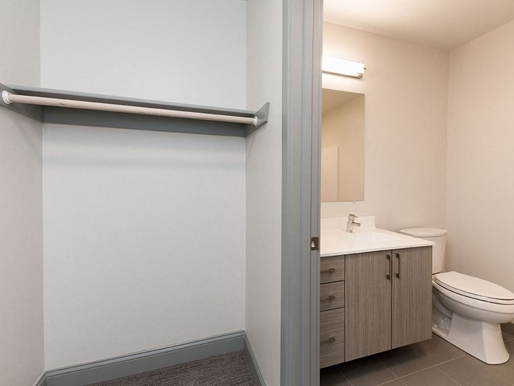 Washrooms With Walk In Closet at 735 Truman, Hyde Park