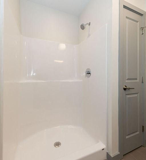Shower Area at 735 Truman, Massachusetts