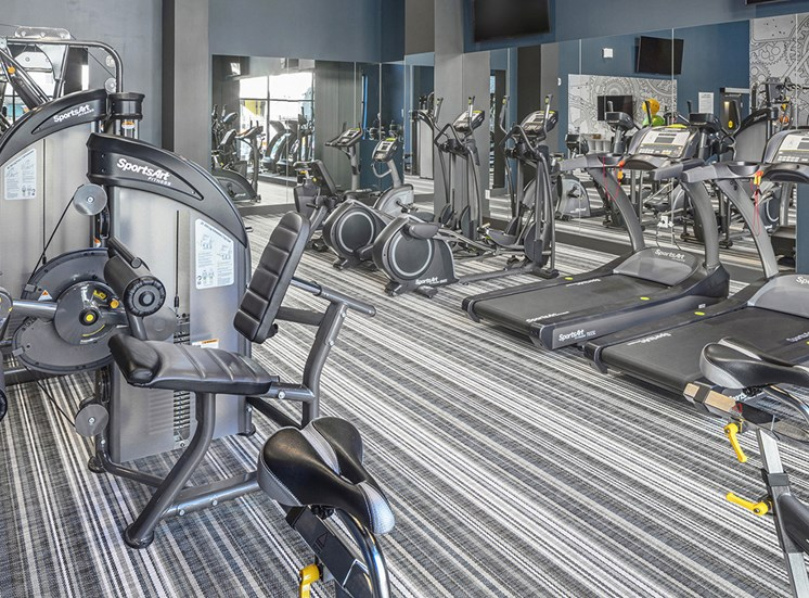 Baseline 158 - 24-hour fitness center