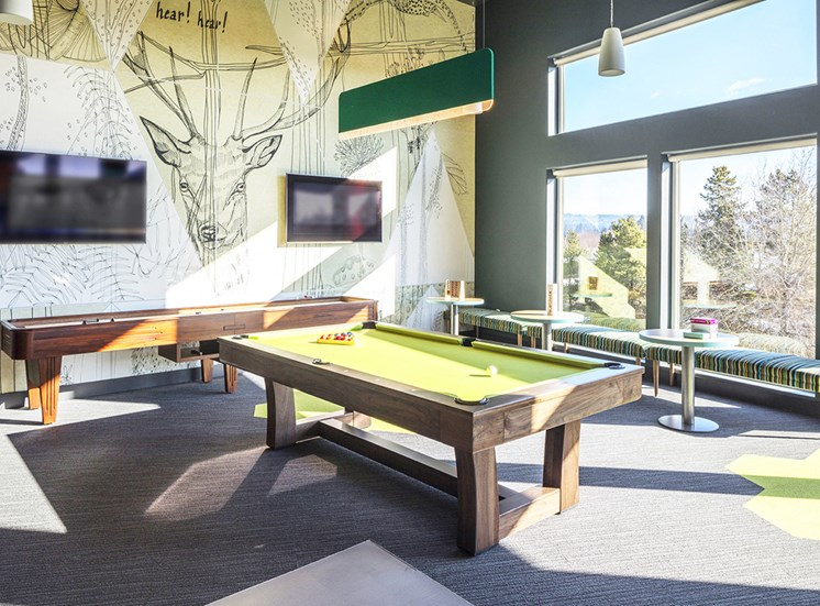 Baseline 158 - Game room with billiards