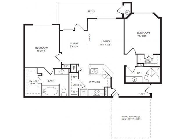 Floor Plans Of The Villas At Rogers Ranch In San Antonio Tx