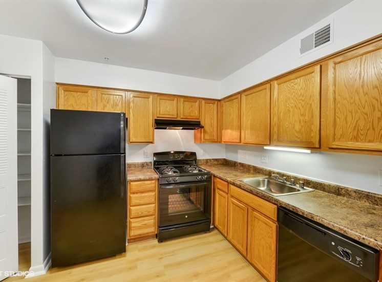 Full Size Washer and Dryer in Each Apartment at The Forest, Maryland
