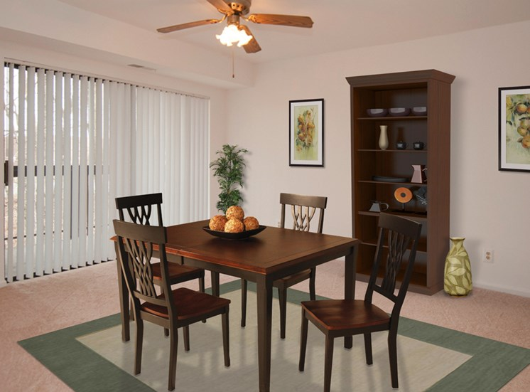 The Forest Apartments Dining Room