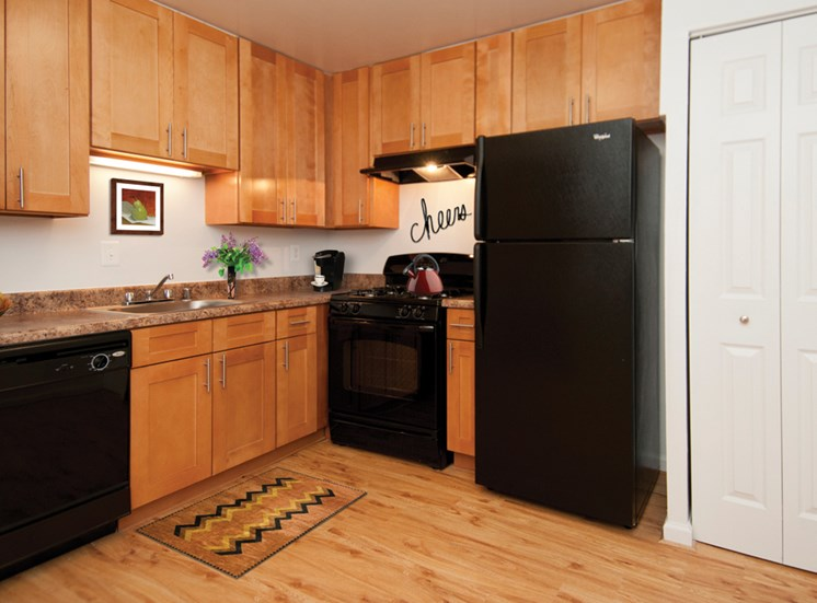 The Forest Apartments Kitchen