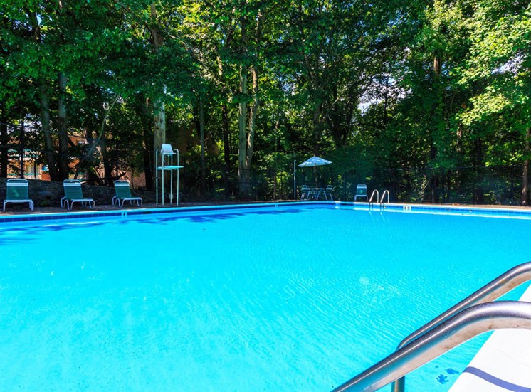 Sparkling Swimming Pool at The Forest Apartments in Rockville, MD