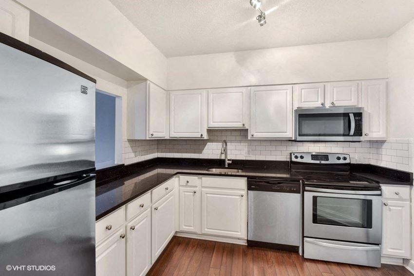 Fully Equipped Kitchens with Dishwasher at The Saratoga Apartments, Washington, 20008