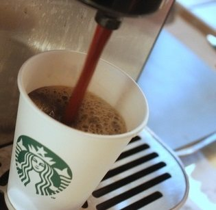 Now Serving Starbucks Coffee at The Saratoga Apartments, Washington, D.C.