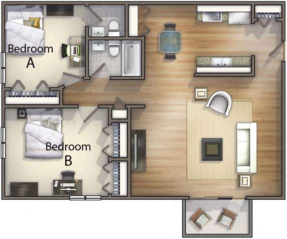 2 Bedroom 1 5 Bathroom Floor Plan 2. TEST The Point at Still River   Apartments in Danbury  CT