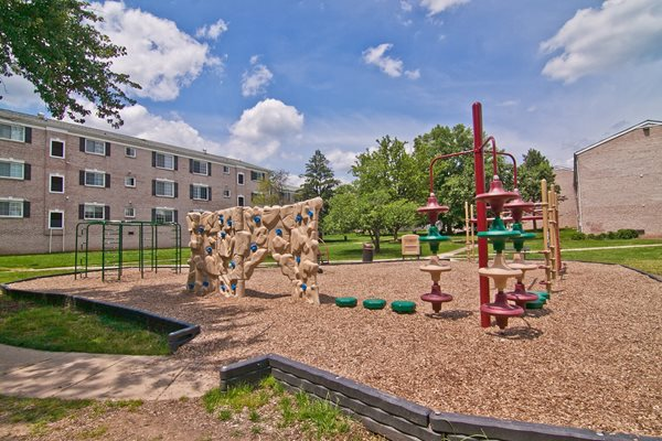 Playground and Tot Lot at Dulles Glen, Virginia