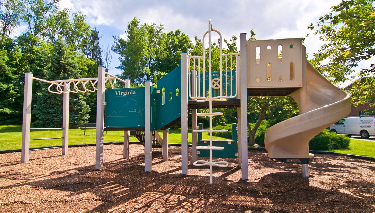 Children's Playground at Tuscarora Creek, Leesburg, VA
