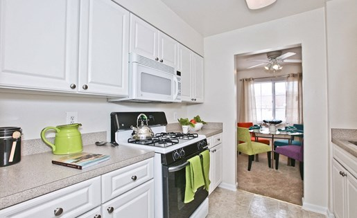 Kitchen in Fairfax Apartment at Fairfax Square