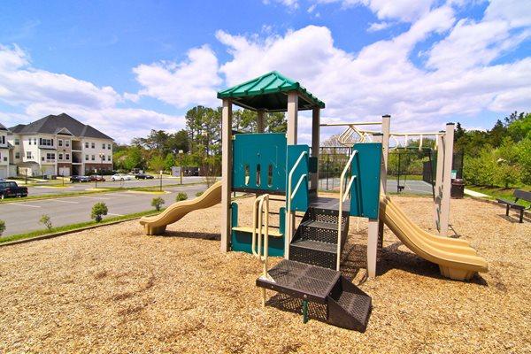On-Site Playground at Barrington Park, Manassas