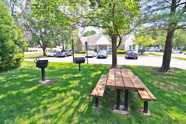 Picnic Areas with Grills at Saratoga Square, Springfield, 22153