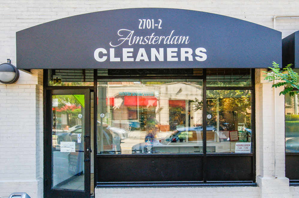Amsterdam Cleaners in Washington, DC near Columbia Uptown Apartments