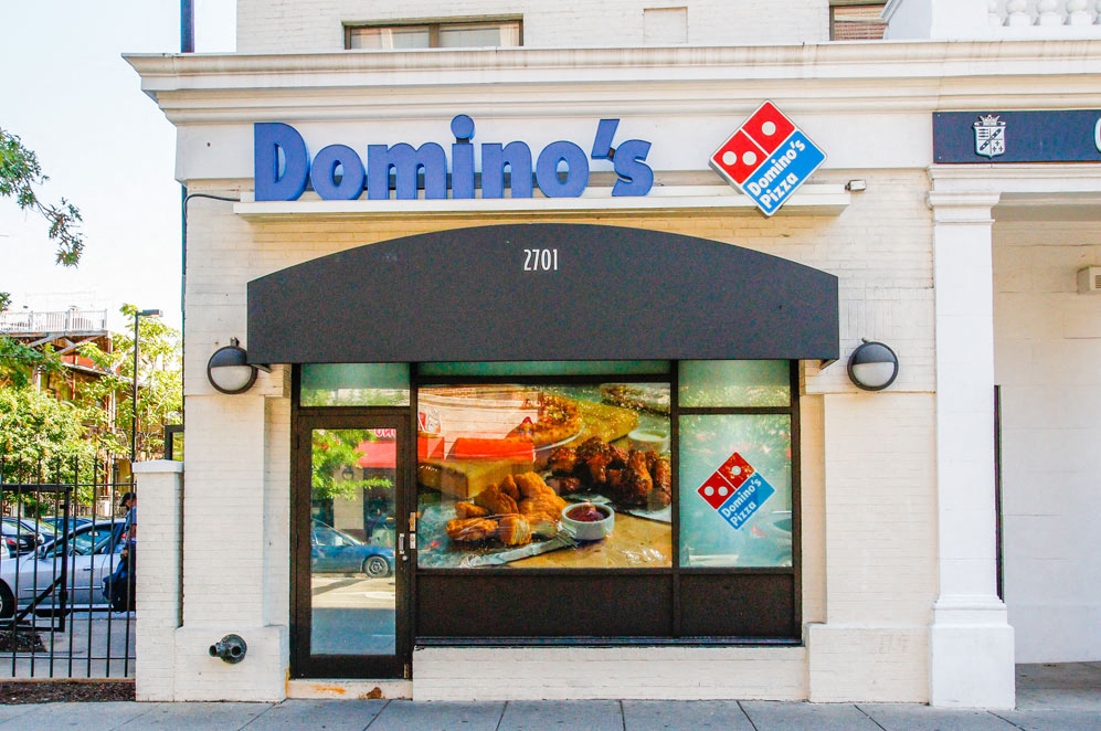 Dominos Pizza in Washington, DC near Columbia Uptown Apartments