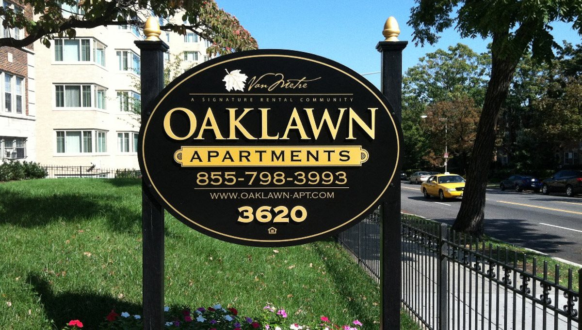 Beautiful Landscaping and Park-like Setting at Oaklawn, Washington, DC, 20010