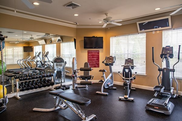 Fully Equipped Fitness Center at Northlake Park