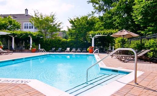 Swimming pool at Broadlands
